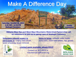 Microsoft PowerPoint - Make a Difference Day flyer